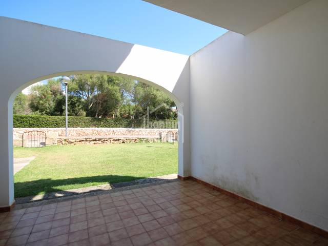 Ground floor apartment in Son Carrio, Ciutadella, Menorca.