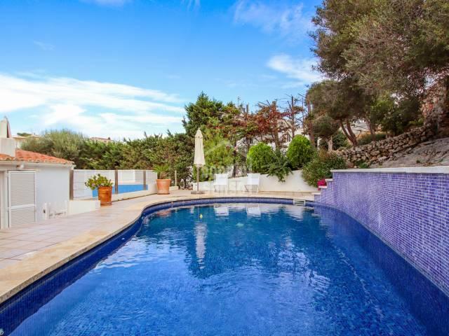 Villa only a short distance from Binibeca beach,Menorca