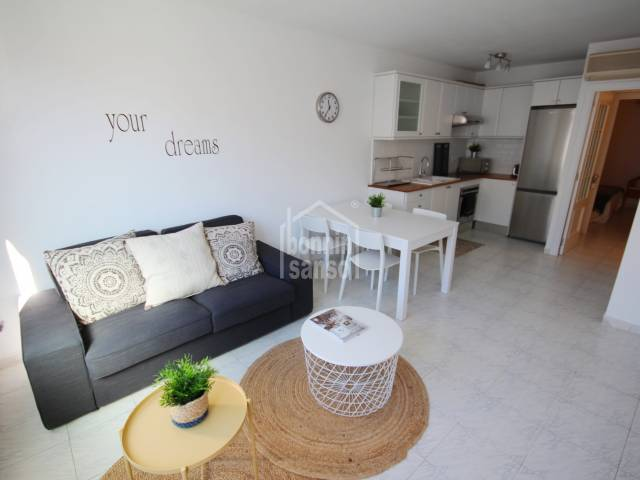 Beautifully refurbished apartment in Es Castell.
