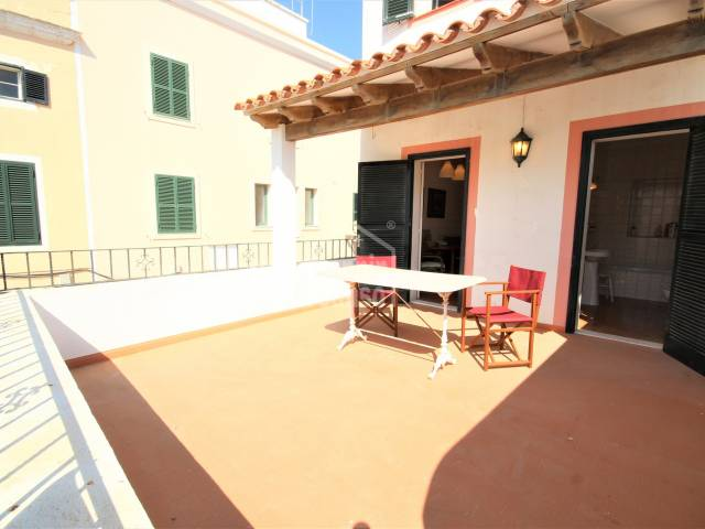 Terrace - Elegant house in the center of Ciutadella, Menorca