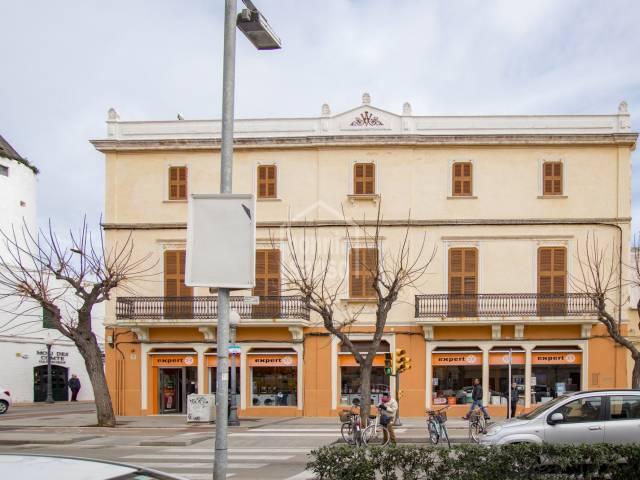 Very interesting corner house in Ciutadella, Menorca