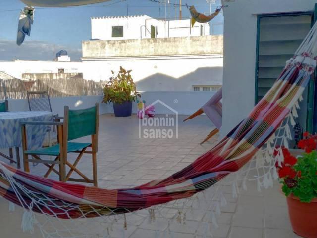 Casa en primera planta en el centro de Mahon (Menorca)
