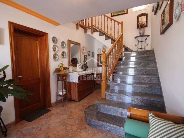 Beautiful and authentic 3 floors house in peaceful area of Ciutadella, Menorca