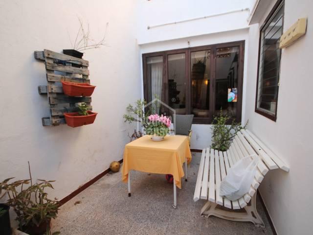 Olden house next to the historic centre in Ciutadella, Menorca