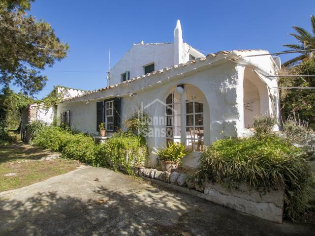 Semi detached farmhouse in the priviledged area of Biniparrel, Sant Lluis, Menorca