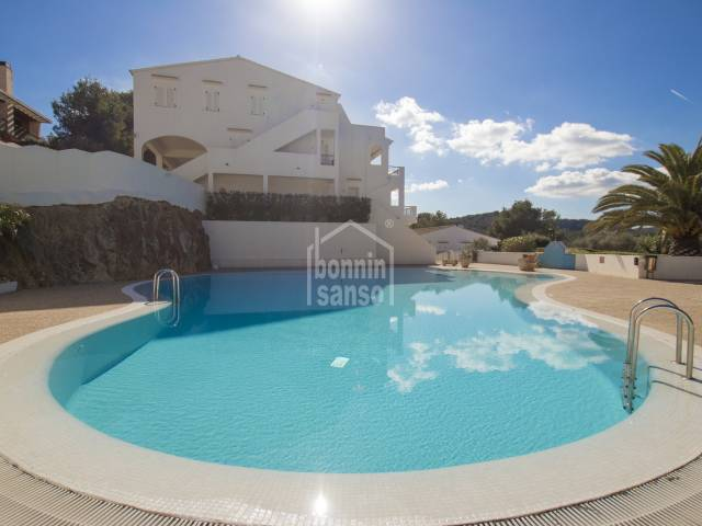 Wonderful grounbd floor apartment close to golf complex in son Parc, Menorca.