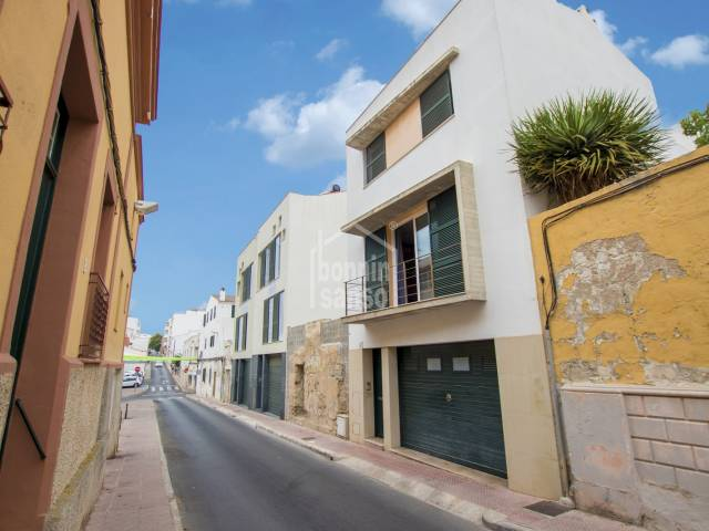 Large property distributed in two house in Mahon, Menorca