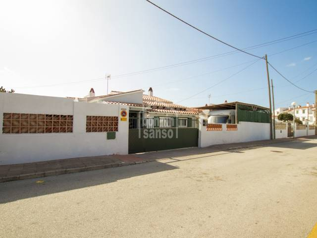 Single storey villa in Calan Porter, Menorca