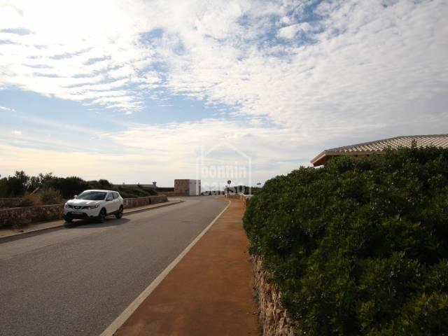Solar edificable en la Urbanización Binidali (Menorca)
