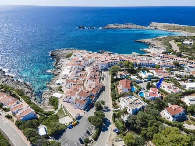 Amazing sea views from this villa in Binibeca.