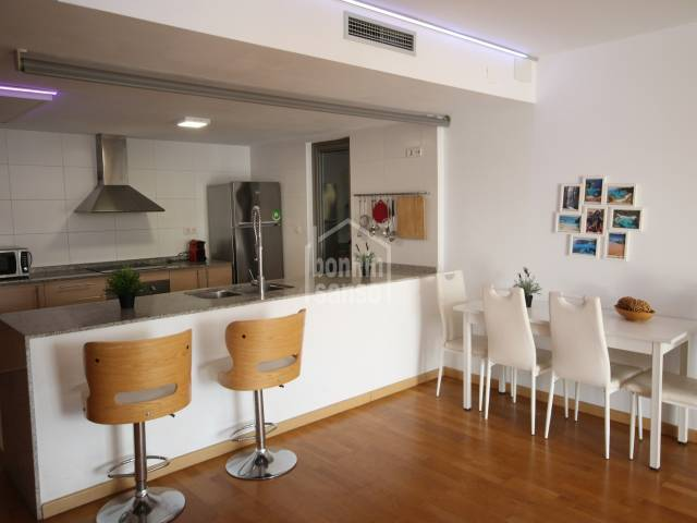 Second floor flat with lift access in the centre of Ciutadella, Menorca