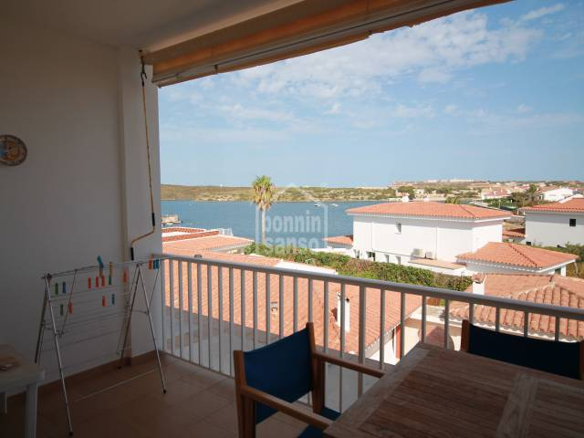 Lovely apartment in Es Castell with fantastic sea views