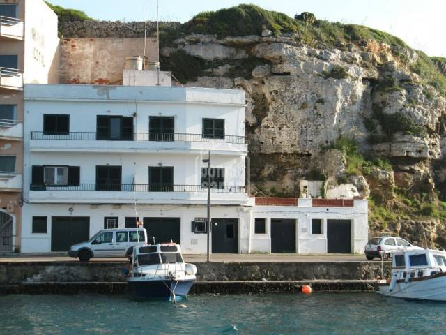 Development project in Mahon harbour, Menorca