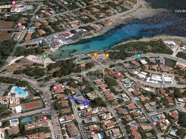 Building plot in Cala Blanca, Ciutadella, Menorca