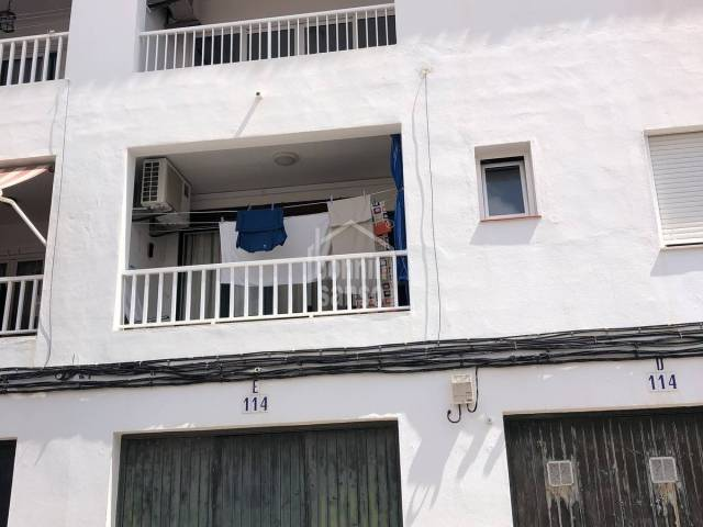 Second floor flat in Es Castell, Menorca