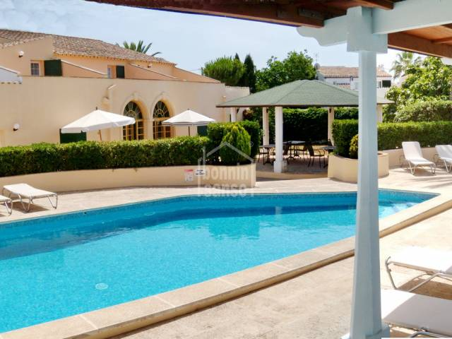 Hotel with 8 en suite rooms in Sant Lluis, Menorca.