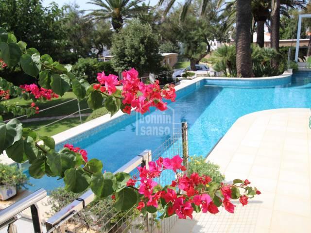 Spacious villa just 100 meters from the sea front at Salgar, Menorca