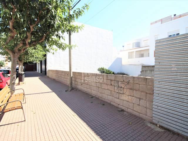 Good investment. Plot of land in centre of Ciutadella, Menorca