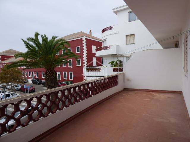Southfacing apartment, in need of refurbishment. Es Castell Menorca