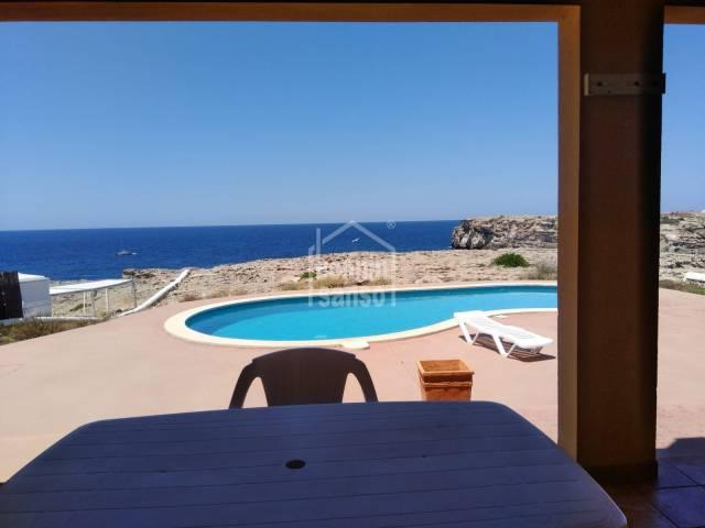 Lovely ground floor apartment  right by the sea in Los Delfines, Ciutadella, Menorca