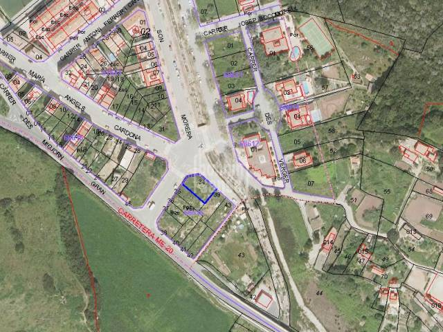 Building plot in residential part of Ferrerias, Menorca