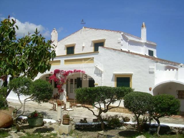 Beautiful country villa in Suestra, San Luis, Menorca