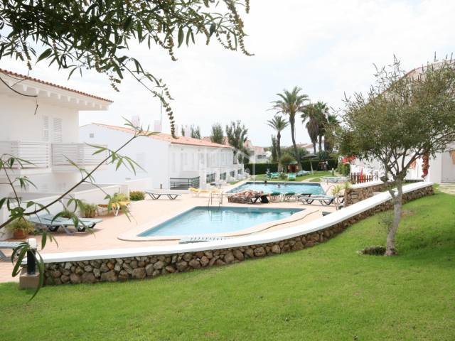 Beautiful duplex apartment in a tranquil complex in Son Parc, north coast, Menorca