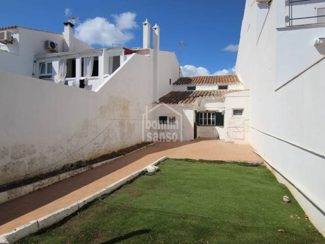 Traditional town house just a short walk from the center of Sant Lluis, Menorca