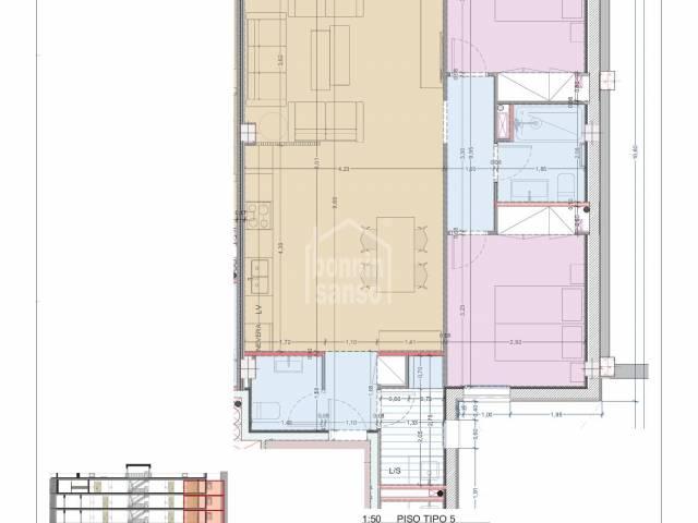 Apartment/Flat/Homes in Mahón (City)