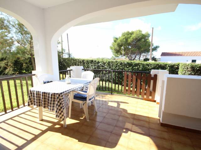 Apartment with sea view in Calan Porter, Menorca