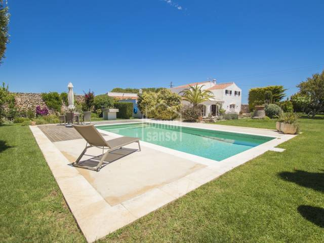 Extraordinary country house only a few minutes from Sant Lluís, Menorca.
