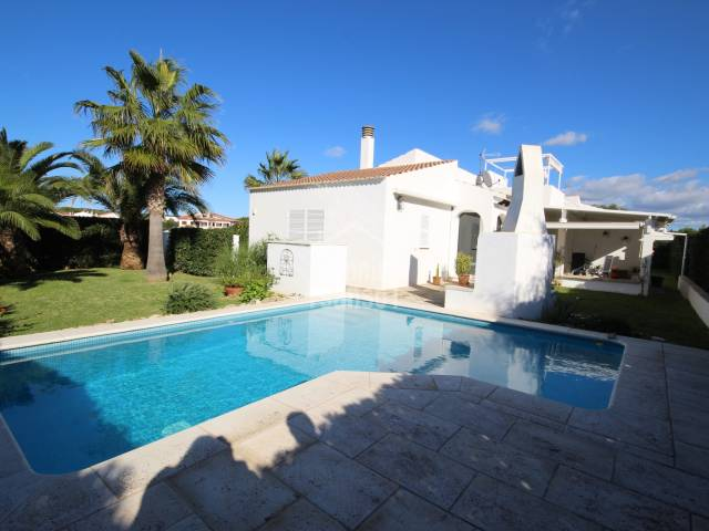 Magnificent villa two steps from the sea in Calan Bruch, Ciutadella, Menorca