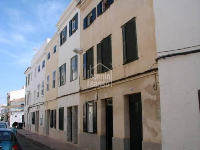 Planta baja en Mahon, Menorca