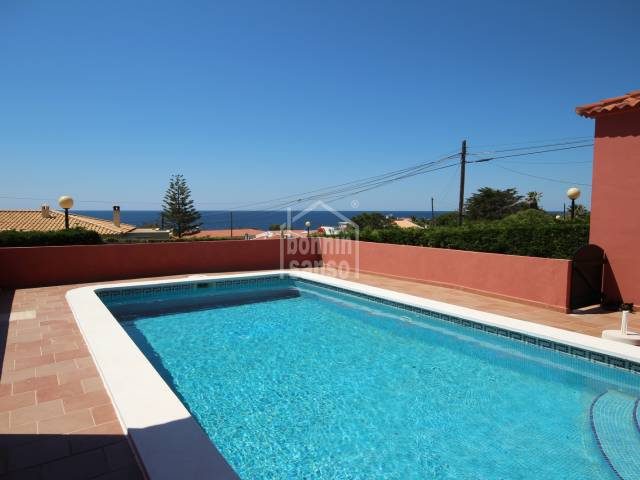 Attractive ground floor villa in Son Ganxo, Menorca