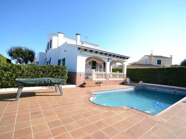 Villa with pool in Calas Picas, Ciutadella, Menorca
