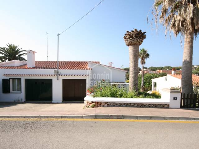 A lovely property close to the beach in Punta Prima