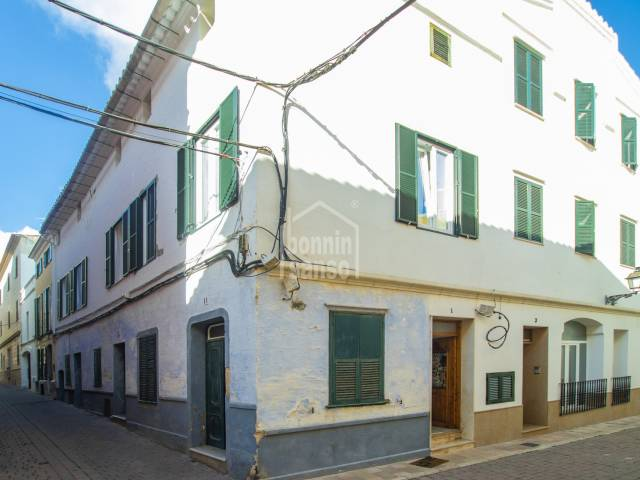 Single storey property in the centre of Alayor, Menorca.