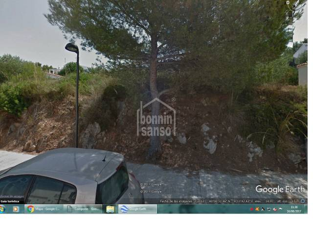 Building plot in Addaya, Menorca