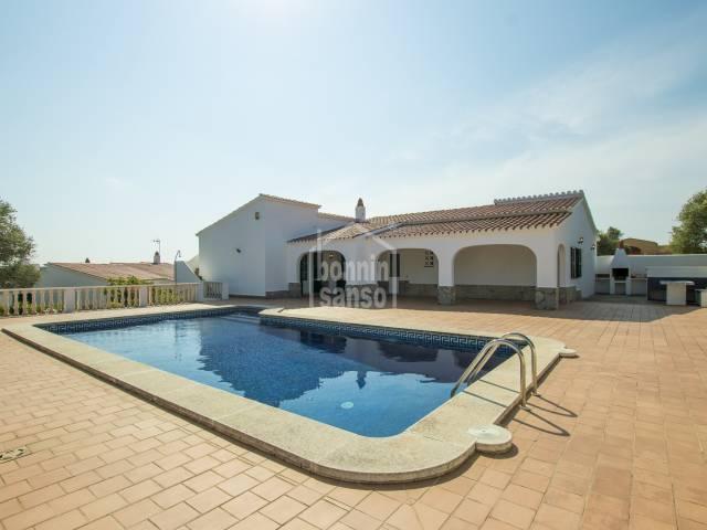 Comfortable family home in Binixica Menorca