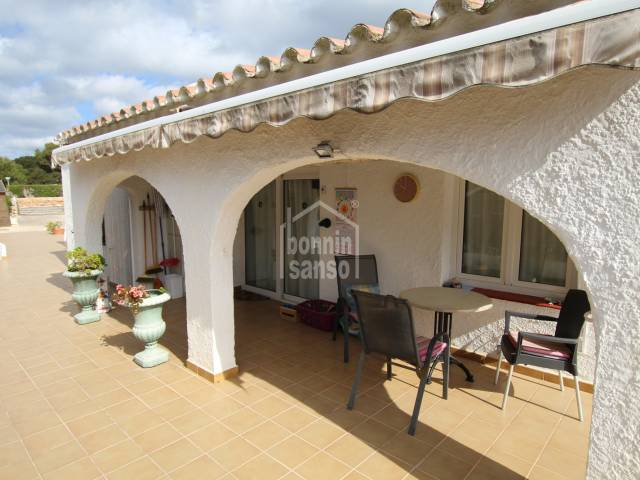 Villa of approximately 130m2 in Binibeca, Menorca