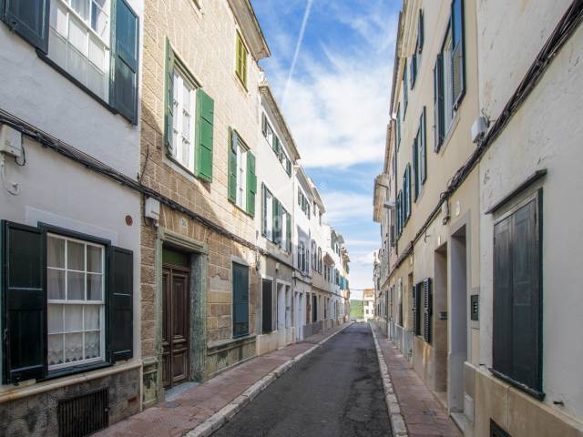 Large town house in central Mahon, Menorca