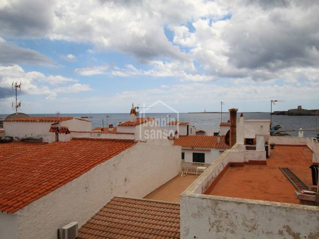 Town house of approx. 90sqm plaus terraces located in Salgar, Menorca with sea views.
