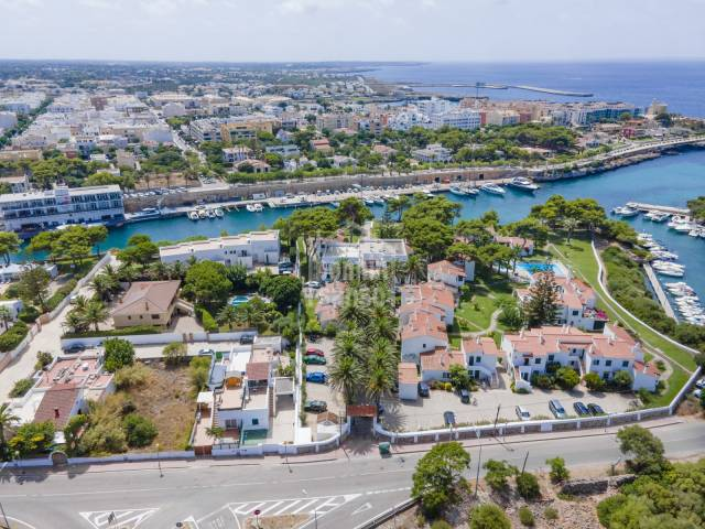 Exceptional first floor apartment with views of the sea and the harbour of Ciutadella, Menorca