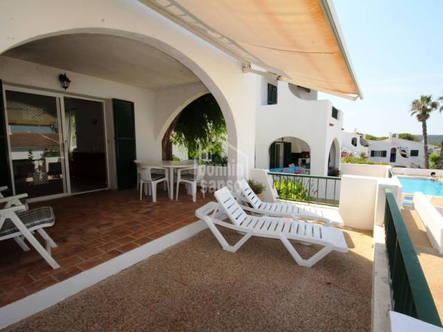 Great holiday apartment in Son Parc, Menorca