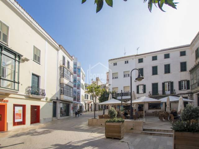 Interesting investment property in the centre of Mahón, Menorca.