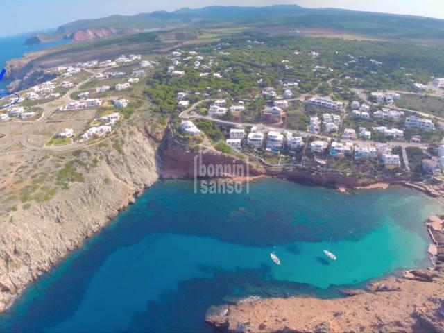 Primera línea de mar en Cala Morell, Ciutadella