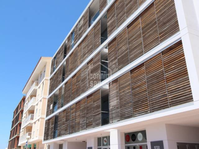 Modern totally functional duplex in the center of Mahon, Menorca.