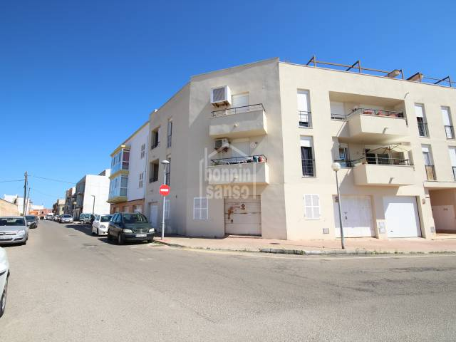 First floor flat situated next to the historic harbour of Ciutadella, Menorca.