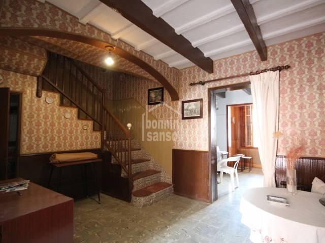 Terraced house with patio in Ciutadella, Menorca