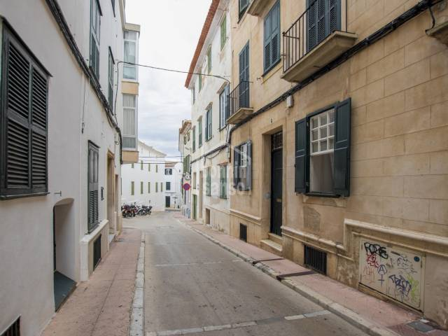 Ground floor house in the centre of Mahon, Menorca